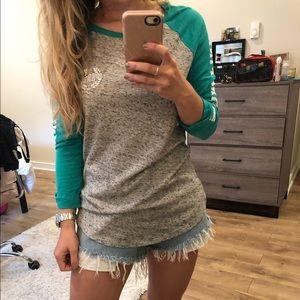 Victoria secret PINK long sleeve top XS